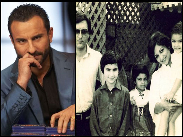 HEARTBREAKING! Poor Kid Saif Ali Khan Used To Think That His Maid Was His Real Mother, Not Sharmila!