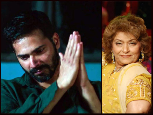 Varun Dhawan BREAKS SILENCE On Saroj Khan Controversy; Says, I Don't Know Her Personally