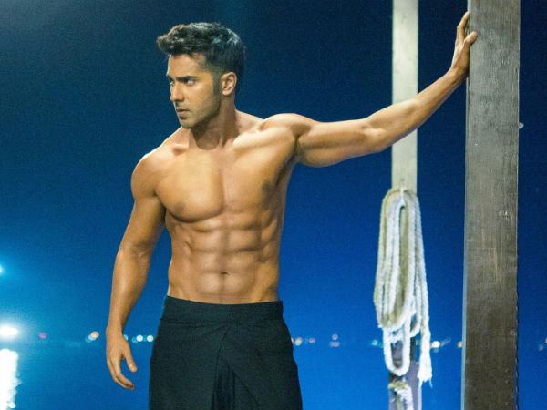 Varun Dhawan Shirtless Abs Hot