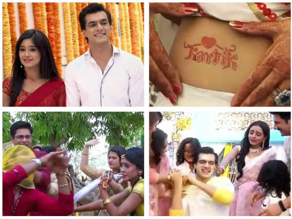 Yeh Rishta Kya Kehlata Hai: Family Members Have A Blast During Kartik & Naira's Haldi Ceremony!