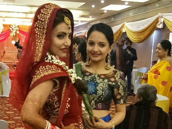 Gia Manek With The Bride