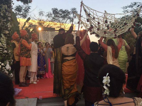 Vj gaurav kapoor wedding