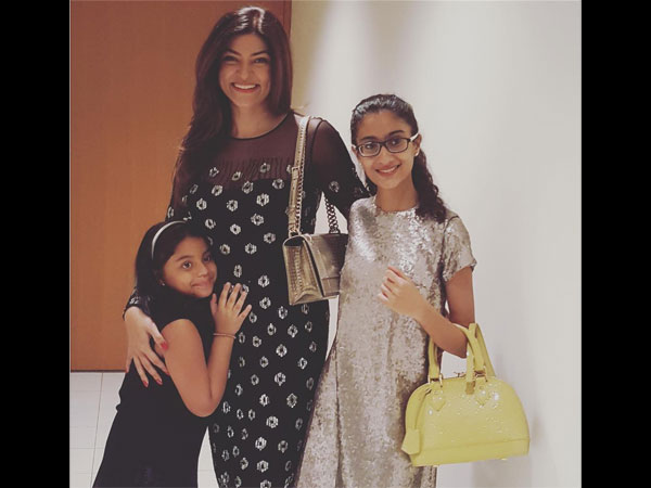 Sushmita With Renee & Alisah