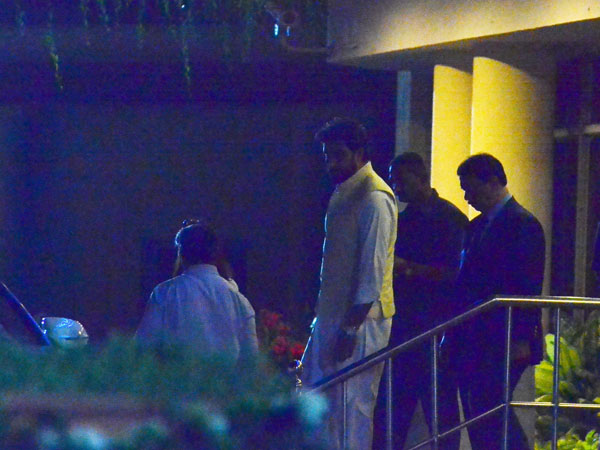 Abhishek Too Is Present At The Hospital