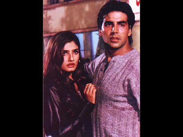 akshay kumar and raveena tandon relationship