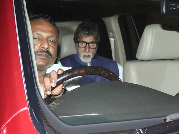 Amitabh Bachchan Visits The Hospital
