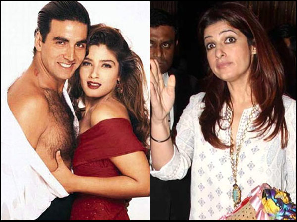 OH GOD! Twinkle Khanna Was NOT PLEASED When Someone COMPARED Her To Akshay Kumar's EX Raveena Tandon