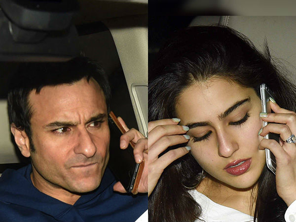 Is Saif Happy With Sara's Filmy Career