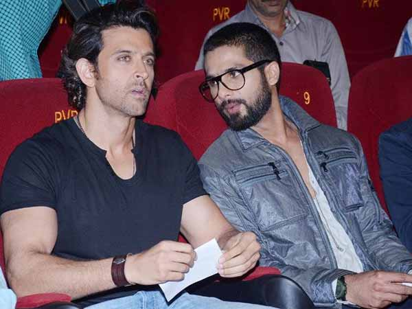 Why Shahid Is Miffed With Hrithik?