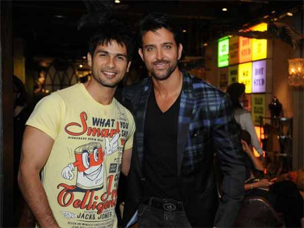 Shahid Is Upset That Hrithik Is Getting More Attention