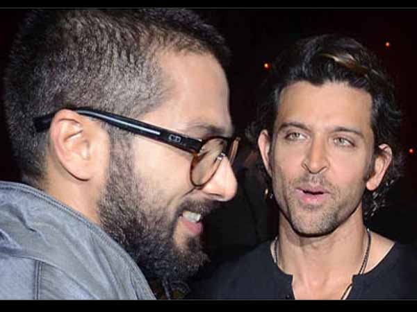 Shahid Ended His Contract Because Of Hrithik