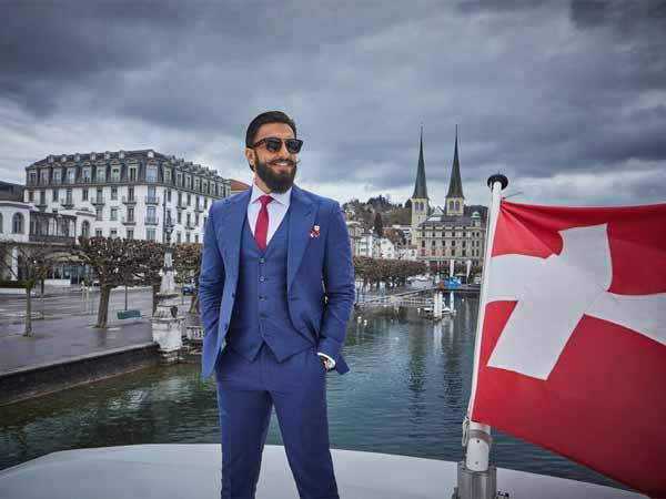 Ranveer Singh Holidays In Switzerland