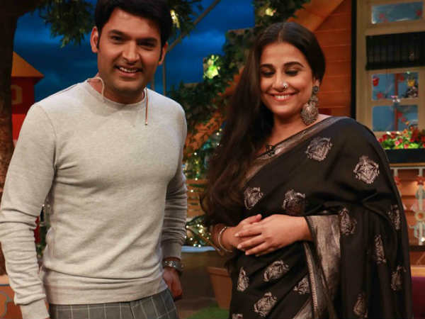 Kapil Made Vidya Balan Wait For 6 Hrs