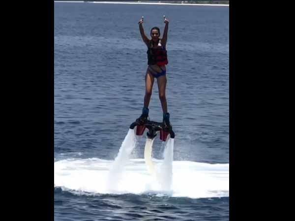 Nia Sharma is having insane fun while holidaying in Maldives