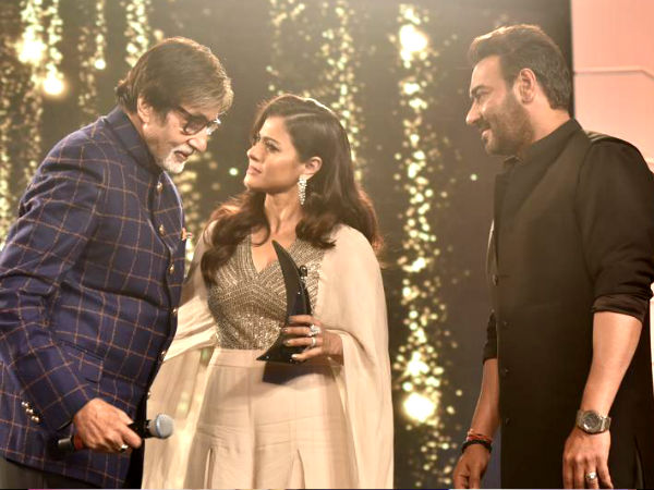 In Pic: Big B With Kajol & Ajay