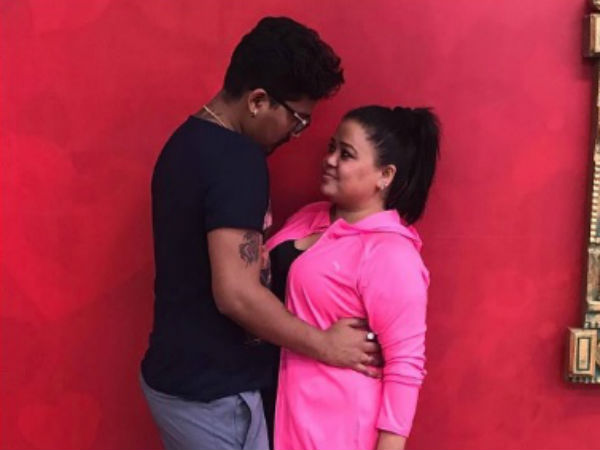 Bharti's Romantic Lines For Harsh