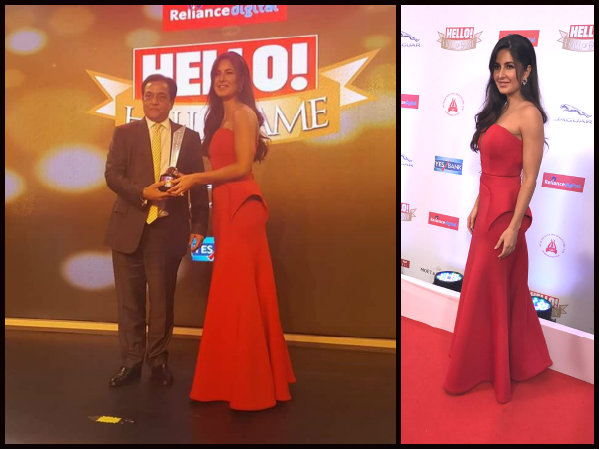 Glitz and glamour from the Hello! Hall of Fame Awards 2017