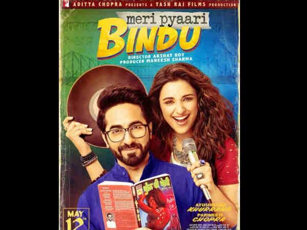 Meri Pyaari Bindu poster: Why is Ayushmann Khurrana reading 'Chudail Ki Choli'?