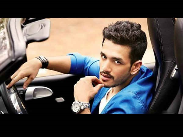 Akhil Is Trying His Luck Through Karan Johar And His Father's Friends