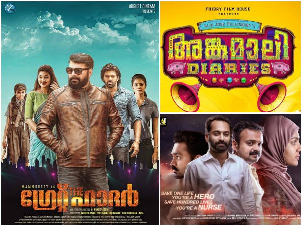 Most Talked About Movies – The Great Father, Angamaly Diaries And Take Off