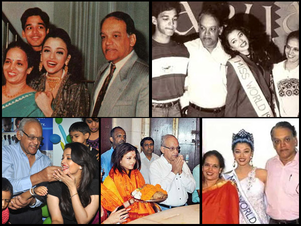 ONLY MEMORIES LEFT! Aishwarya Rai Bachchan's HEART TOUCHING Pictures With Father Krishnaraj Rai!