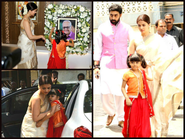 NEW PICTURES! Aishwarya Rai Bachchan Pays Homage To Her Father; But Aaradhya's Pic Is HEART-TOUCHING