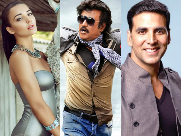 Amy Jackson To Fight Rajinikanth & Akshay Kumar In Robo 2