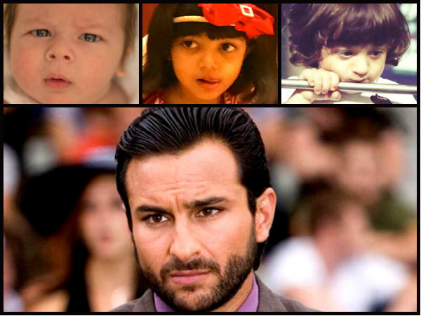 Be It Taimur, Aaradhya Or Abram, Saif Ali Khan Says There's Much Pressure On All The B-town Kids!