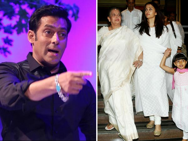 HOLDING GRUDGES! Salman Khan Didn't ATTEND Aishwarya Rai's Father's Prayer Meet; Is This The REASON?