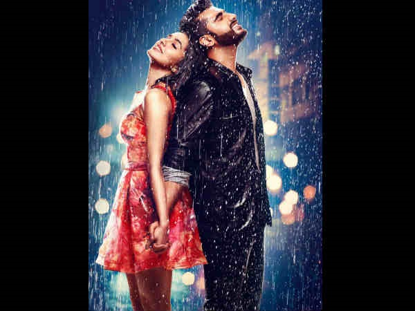 Half Girlfriend FIRST LOOK: Arjun Kapoor & Shraddha Kapoor Indulge In Some Rain Soaked Romance!