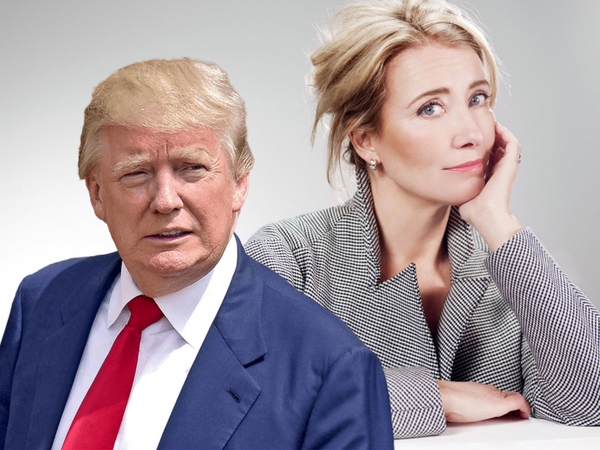 How Donald Trump Asked Emma Thompson For A Date And Was Turned Down!