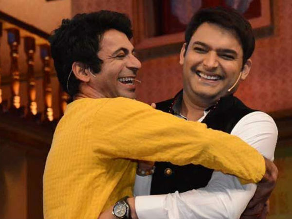 Fans Want Kapil Sharma & Sunil Grover To Patch Up; #GetBackKapilSunil Trending On Twitter
