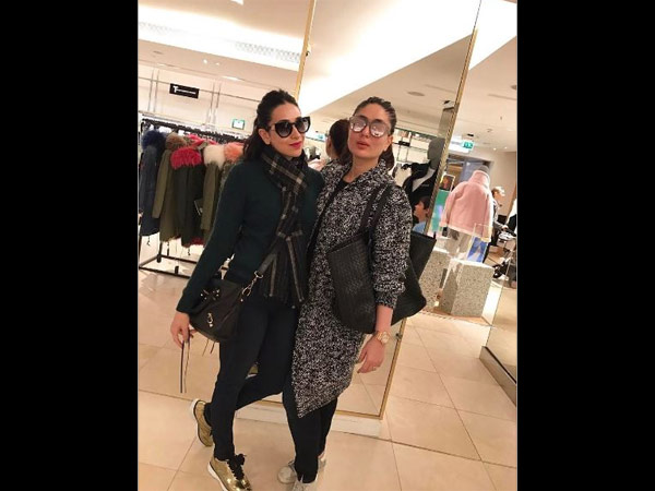 Take A Bow! Kareena Kapoor Khan Is Getting Back In Shape; See Her New Picture With Karisma Kapoor!