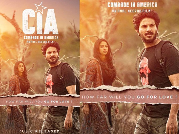 REVEALED: Karthika Muralidharan's Look In Dulquer Salmaan's Comrade In America