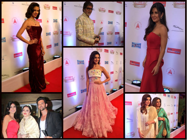 HOT, WE SAY! Katrina Kaif, Disha Patani, Hrithik Roshan & Others At Hello Hall Of Fame Awards [PICS]