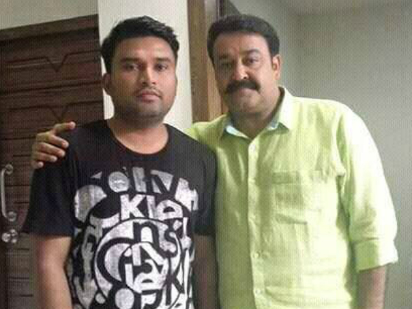 Mohanlal With 'The Great Father' Director Haneef Adeni?