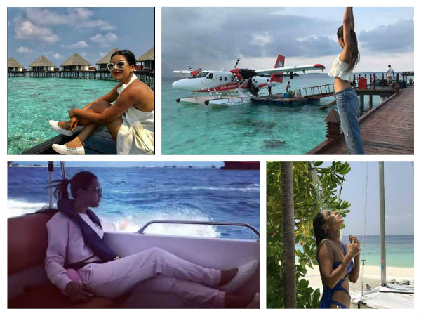 Nia Sharma Holidays In Maldives; Check Out Her HOT Bikini Pictures!