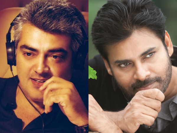 What's Common Between Pawan Kalyan & Ajith Kumar?