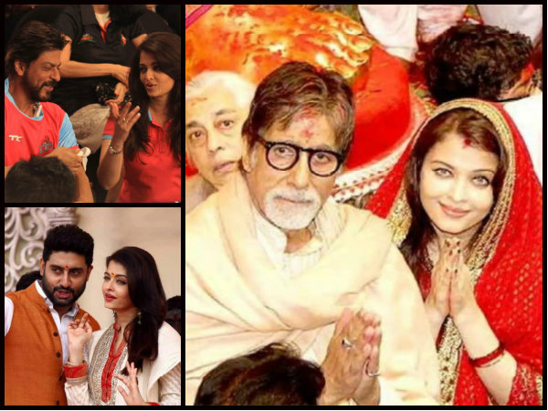 Priority Is Only Aishwarya Rai Bachchan! Abhishek, Big B & SRK's Special Gestures For Her Are Sweet!