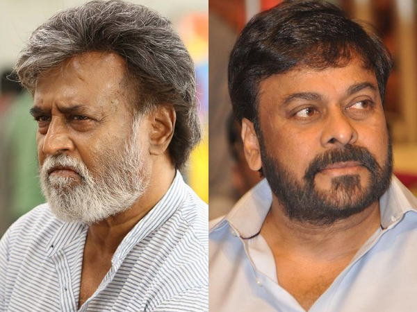 When Rajinikanth Inspired Chiranjeevi Time And Again!