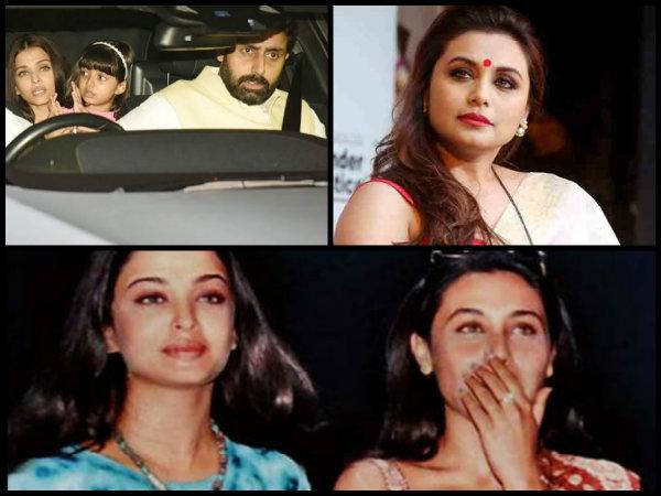 NO MORE RIVALRY! Abhishek Bachchan's EX Rani Mukerji Meets Aishwarya Rai Bachchan & Consoles Her!