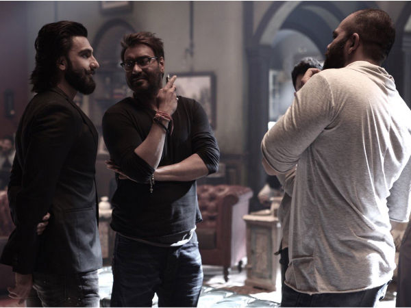 Ranveer Singh Visits 'Golmaal Again' Sets! Is He Doing A Cameo?