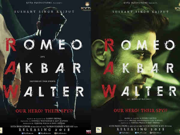 Romeo Akbar Walter First Look: Sushant Singh Rajput Turns Spy And We Are Too Excited About It!