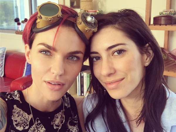 Ruby Rose Calls Her Girlfriend Jess Origliasso An Amazing