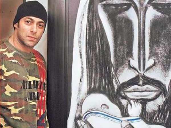 Salman Khan To Sell His Paintings & The Money Will Go Straight To Charity!