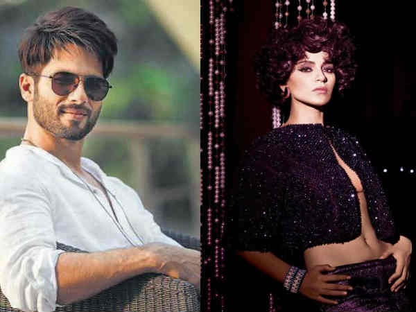 Shahid Kapoor In No Mood To Forgive Kangana, Says 'I Wish She Gets Along With Some Co-Stars'!