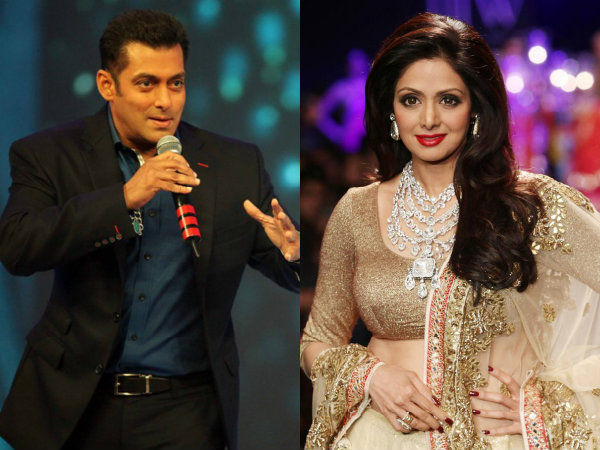 Salman Khan: Shahrukh Khan & Aamir Khan Are Nothing In Front Of Sridevi!