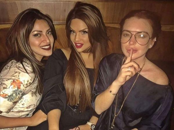 Wedding Pullav Actress Anushka Ranjan Parties With Lindsay Lohan In Dubai!