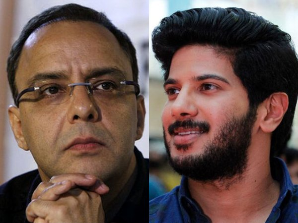 Dulquer Salmaan Has Found A New Admirer In Vidhu Vinod Chopra!