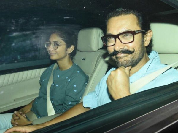 Aamir With Kiran Rao